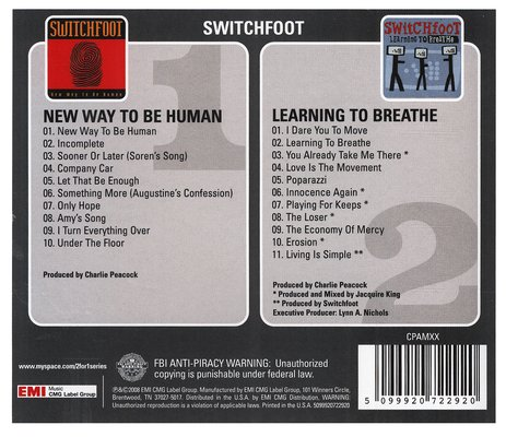 Learning To Breathe/New Way To Be Human CD