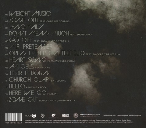 Weight & Glory CD