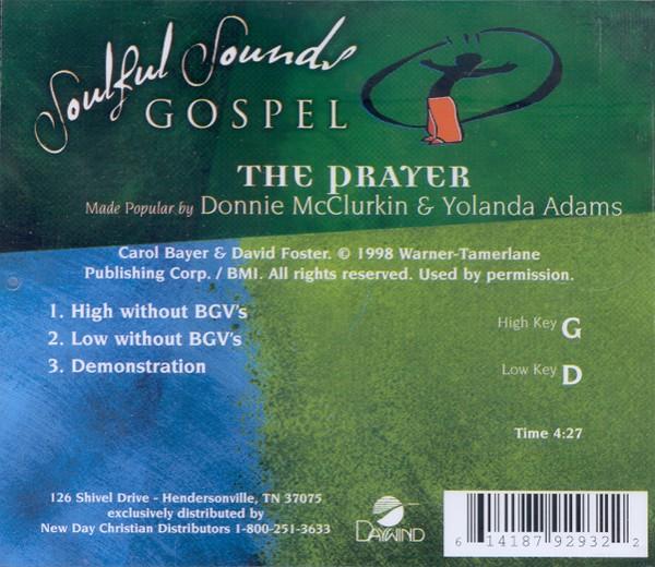 The Prayer, Accompaniment CD