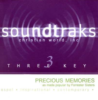 Precious Memories, Accompaniment CD