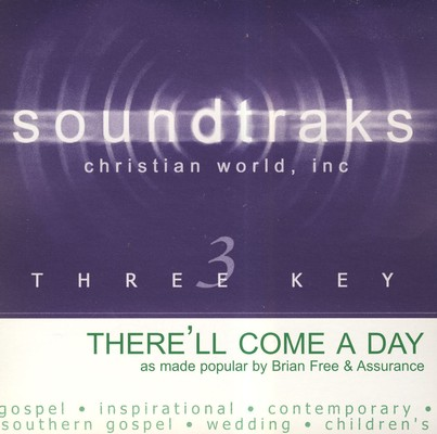 There'll Come A Day, Accompaniment CD