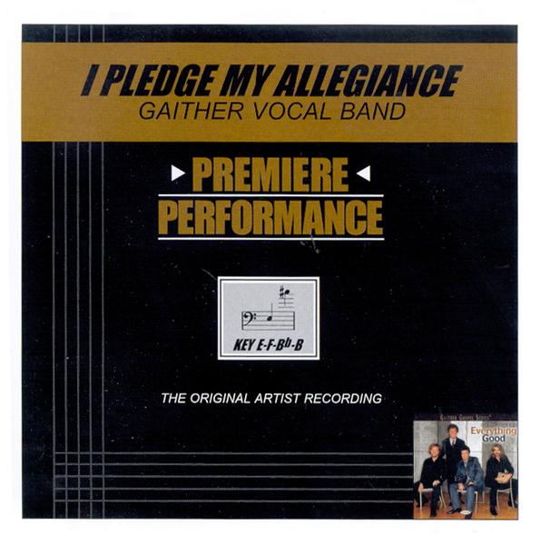 I Pledge My Allegiance, Accompaniment CD