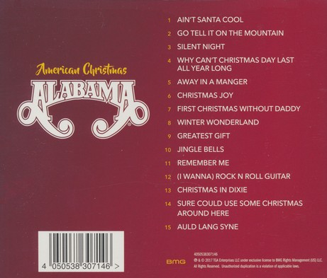 Alabama Christmas In Dixie.American Christmas