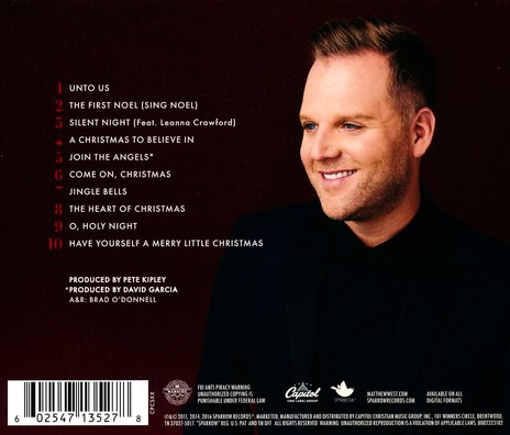 Matthew West The Heart Of Christmas.Unto Us A Christmas Collection