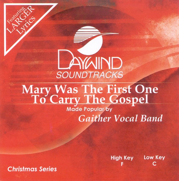 Mary Was The First One To Carry The Gospel, Accompaniment CD