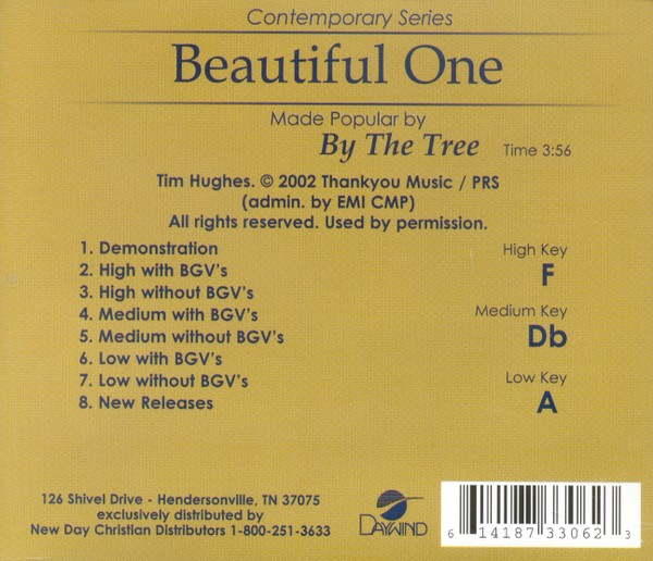 Beautiful One, Accompaniment CD