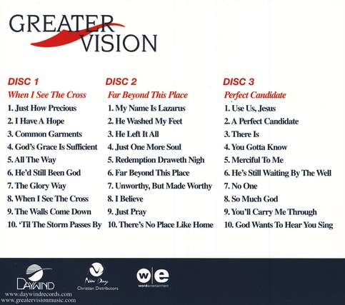 Greater Vision (3 CD Boxed Set)