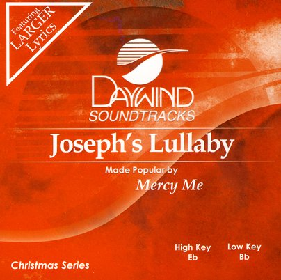 Joseph's Lullaby, Accompaniment CD