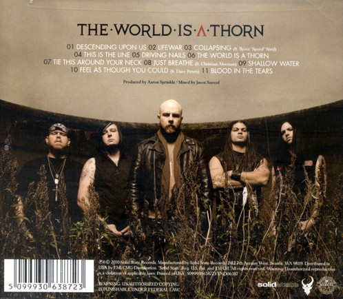 The World Is A Thorn CD