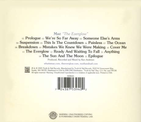 The Everglow, Compact Disc [CD]
