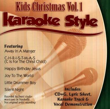 Kids Christmas, Volume 1, Karaoke Style CD