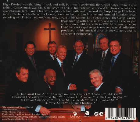 The Gospel Side Of Elvis CD