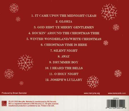 The Christmas Sessions CD