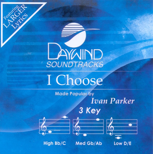 I Choose, Accompaniment CD