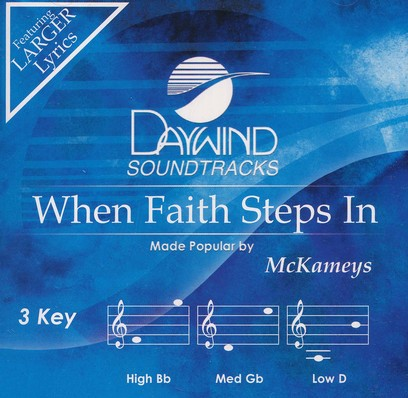 When Faith Steps In, Acc CD