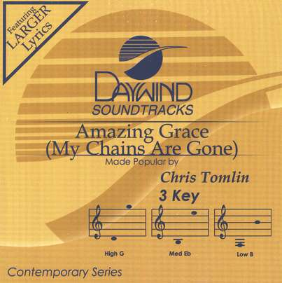 Amazing Grace (My Chains are Gone), Acc CD
