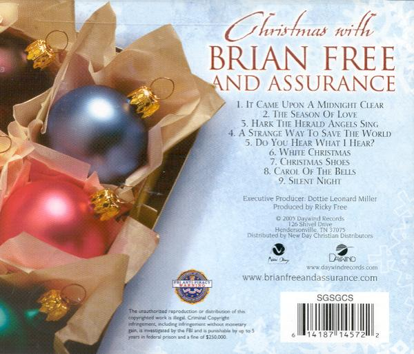 Christmas with Brian Free & Assurance CD