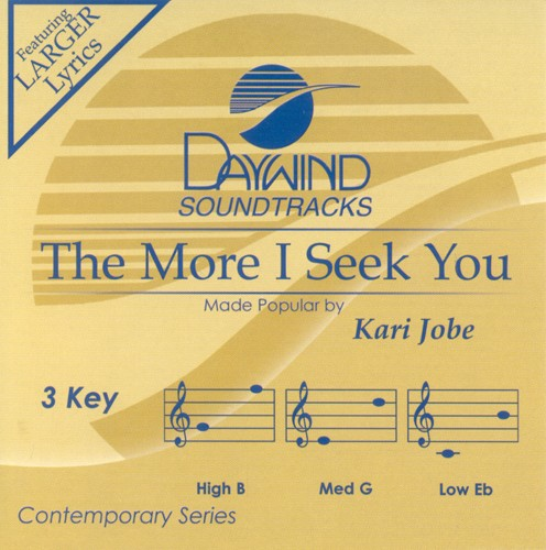 The More I Seek You, Acc CD