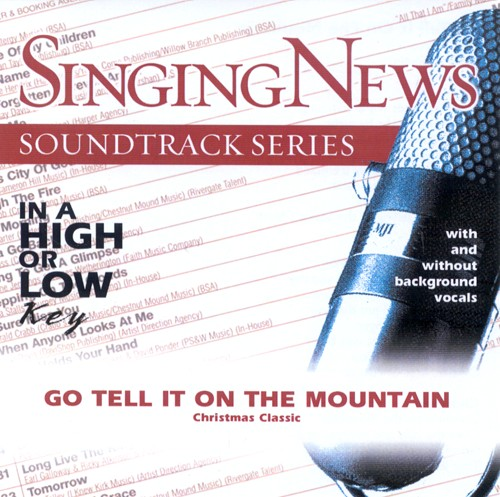 Go Tell It On The Mountain, Accompaniment CD