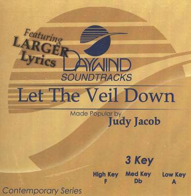Let the Veil Down, Accompaniment CD