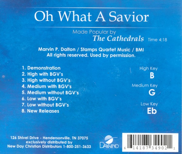 Oh, What a Savior, Acc CD