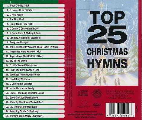 Christmas Hymns.Top 25 Christmas Hymns