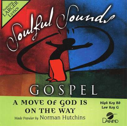 A Move Of God Is On The Way, Accompaniment CD