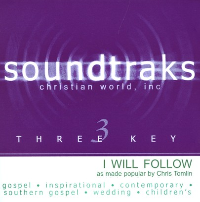 I Will Follow, Acc CD