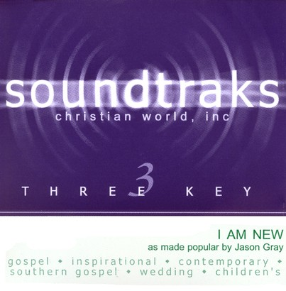 I Am New, Accompaniment CD