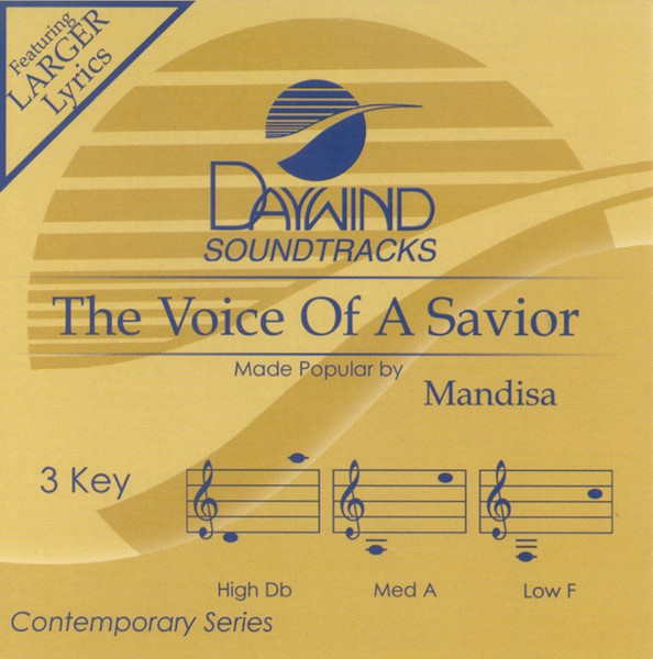 Voice Of A Savior, Accompaniment CD
