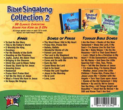 Cedarmont Kids: Bible Singalong Collection 2