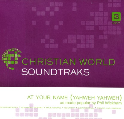 At Your Name (Yahweh Yahweh), Accompaniment CD