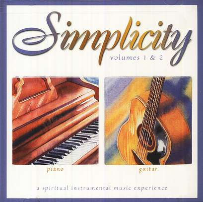 Simplicity Volumes 1 & 2: Piano/Guitar CD