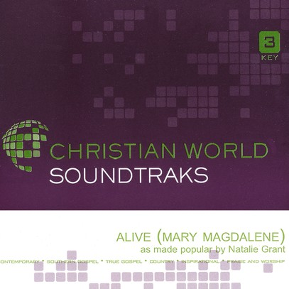 Alive (Mary Magdalene), Accompaniment CD