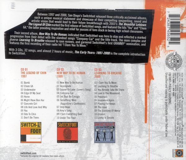 The Early Years: 1997-2000, 3 CD Set