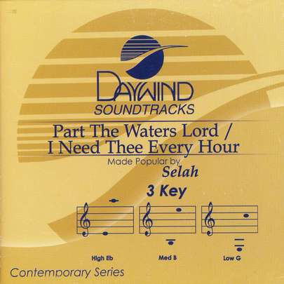 Part the Waters Lord/I Need Thee Every Hour, Acc CD