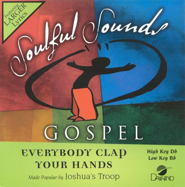 Everybody Clap Your Hands, Accompaniment CD