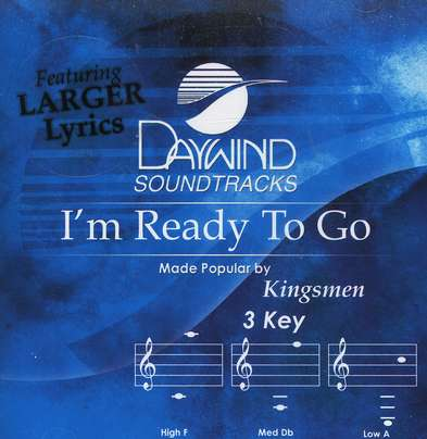 I'm Ready To Go, Accompaniment CD