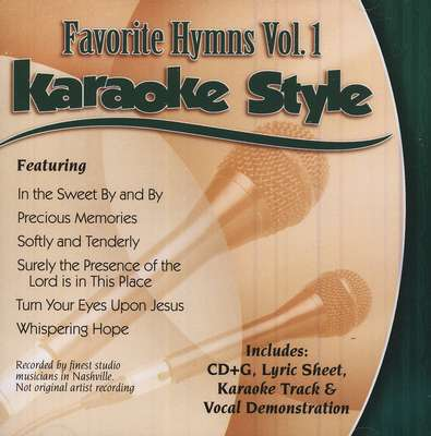 Favorite Hymns, Vol. 1, Karaoke CD