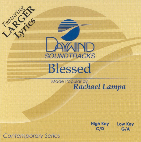 Blessed, Accompaniment CD