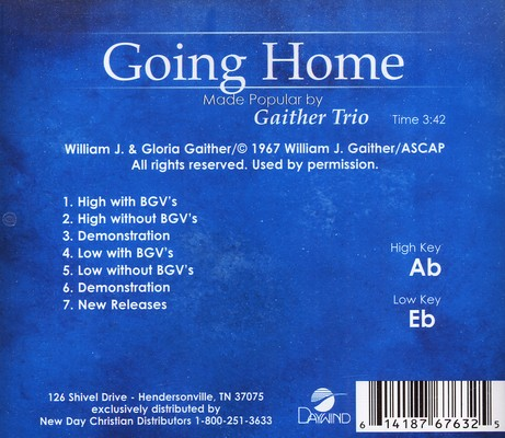Going Home, Acc CD
