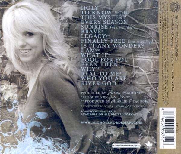 Recollection: The Best of Nichole Nordeman CD