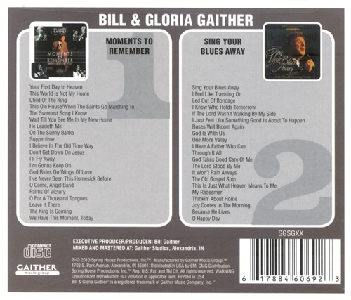 Moments To Remember/Sing Your Blues Away CD