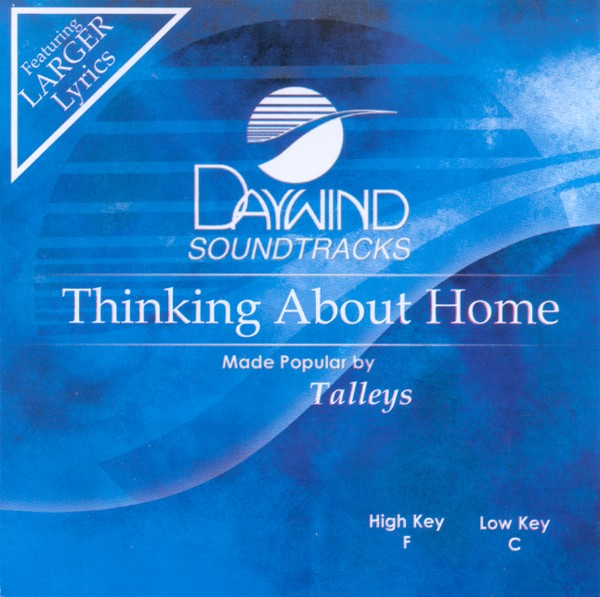Thinking About Home, Acc CD