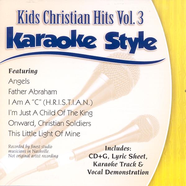Kids Christian Hits, Volume 3, Karaoke Style CD