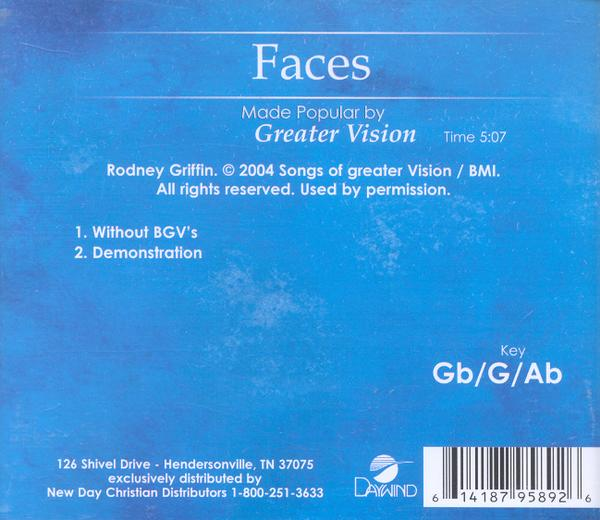 Faces, Accompaniment CD
