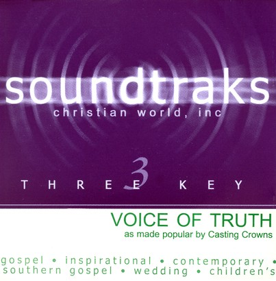 Voice Of Truth, Accompaniment CD