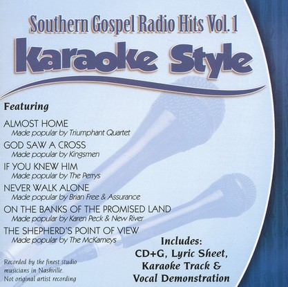 Southern Gospel Radio Hits, Volume 1 Karaoke CD