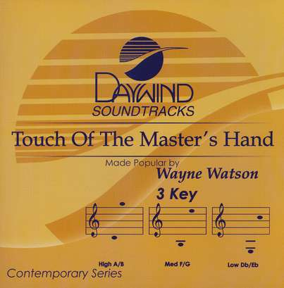 Touch Of The Master's Hand, Acc CD