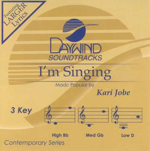 I'm Singing, Accompaniment CD